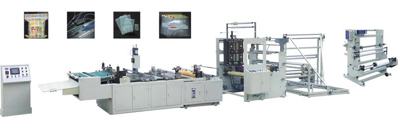 ZB-600800 夹链粘合制袋机