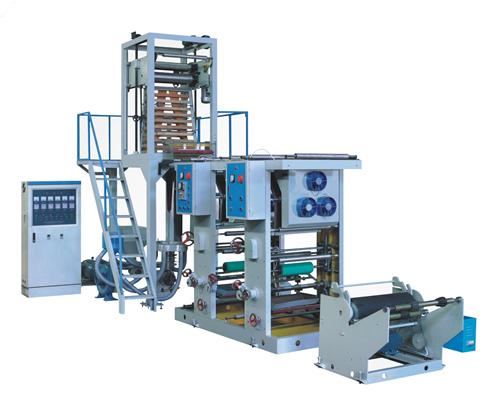 凹版印刷吹膜一体机