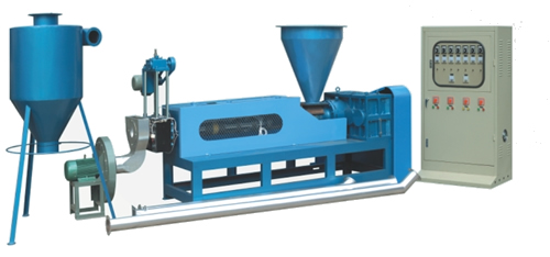 SJ-90(100、110、120)型风冷式再生塑料造粒机