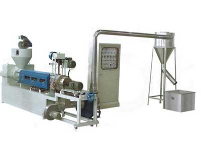 SJ-A90、100、110、120风冷热切再生塑料造粒机